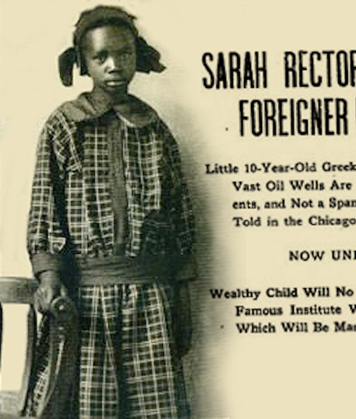 12 African American Cheerleading Images From The Past: 12-year-old Oil Baron: The Story Of Sarah Rector, America