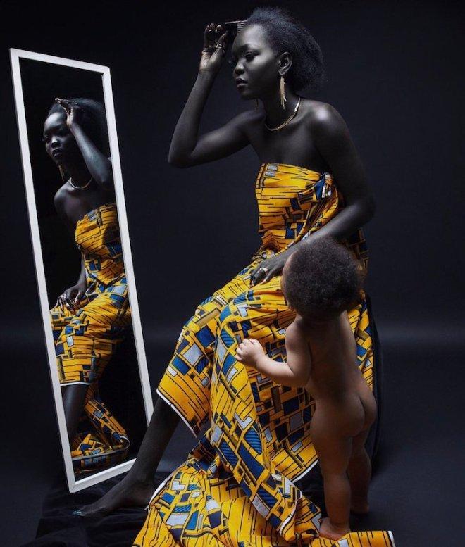 Nyakim Gatwech, African Models, African Fashion, KOLUMN Magazine, KOLUMN