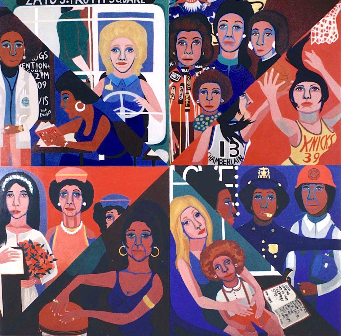 African American Art, Black Art, Faith Ringgold, Brooklyn Museum, KOLUMN Magazine, KOLUMN