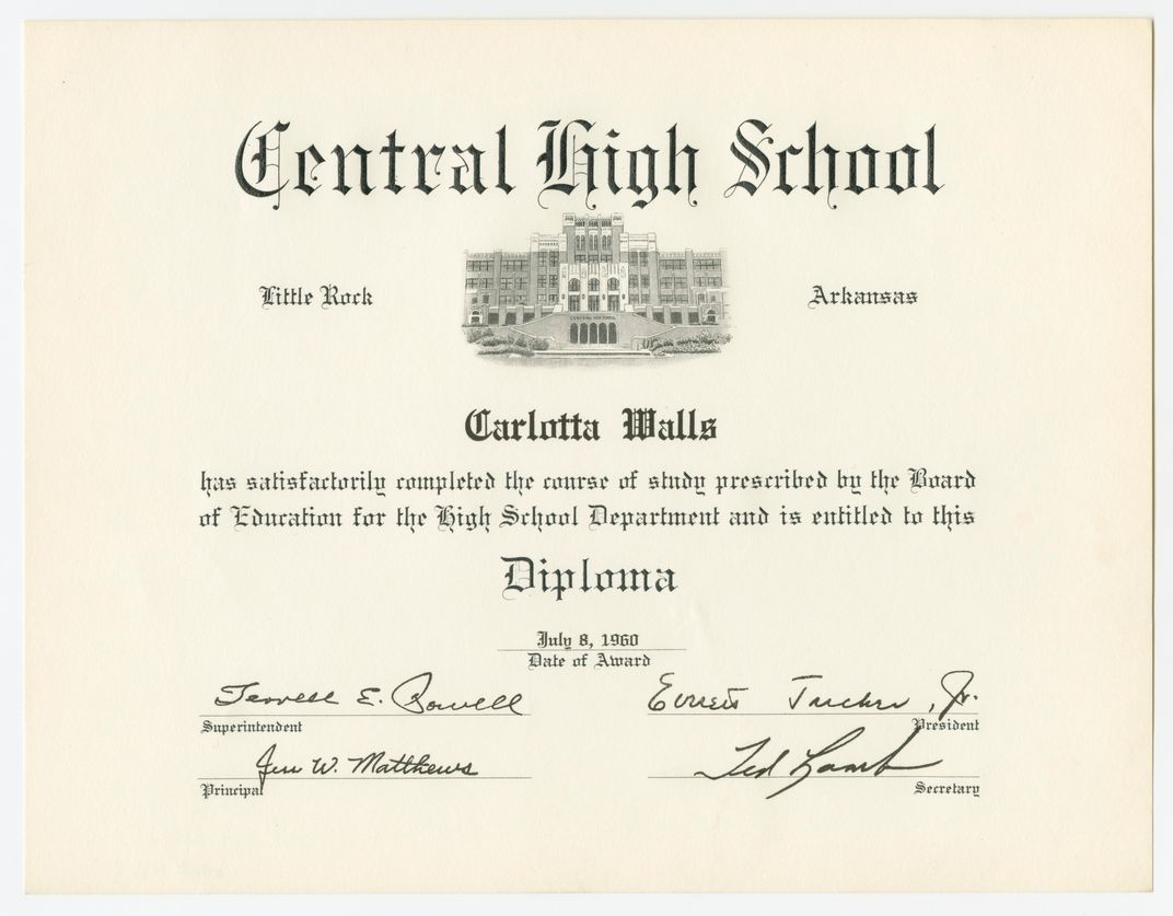 Carlotta Walls LeNier, Little Rock Central High, African American News, African American History, Black History, Civil Rights, KOLUMN Magazine, KOLUMN