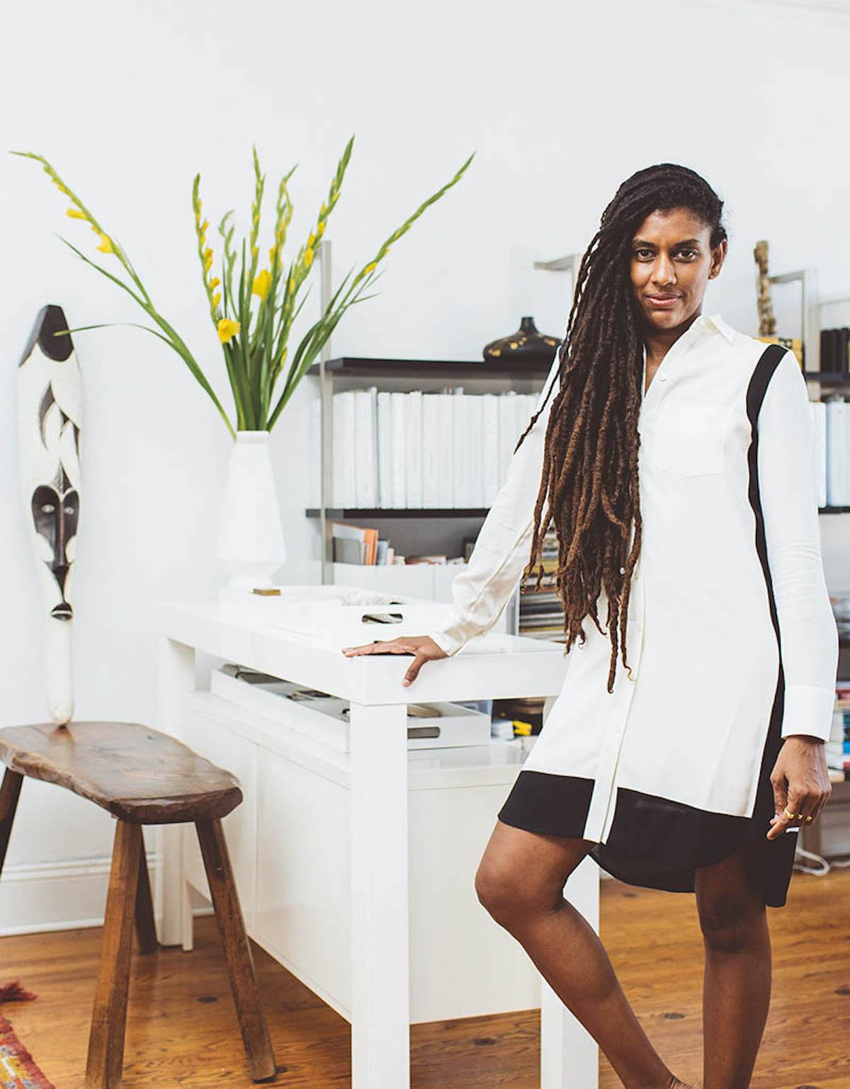 Ordinaire Anishka Clarke, Niya Bascom, Ishka Designs, African American Professionals, African  American Interior