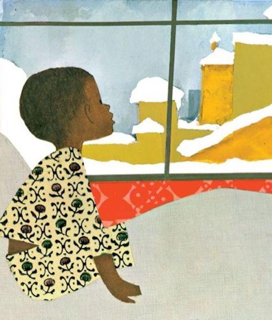 Ezra Jack Keats, The Snowy Day, African American Literature, Black Literature, African American Writer, KOLUMN Magazine, KOLUMN