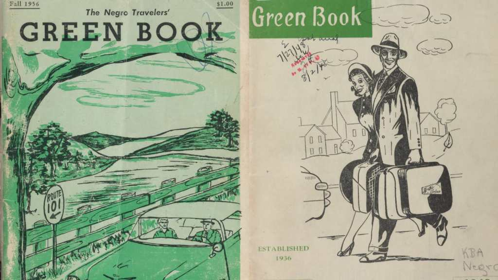 Derrick Adams, African American Art, African American Artist, Black Art, Black Artists, The Negro Motorist Green Book, The Green Book, African American History, Black History, KOLUMN Magazine, KOLUMN