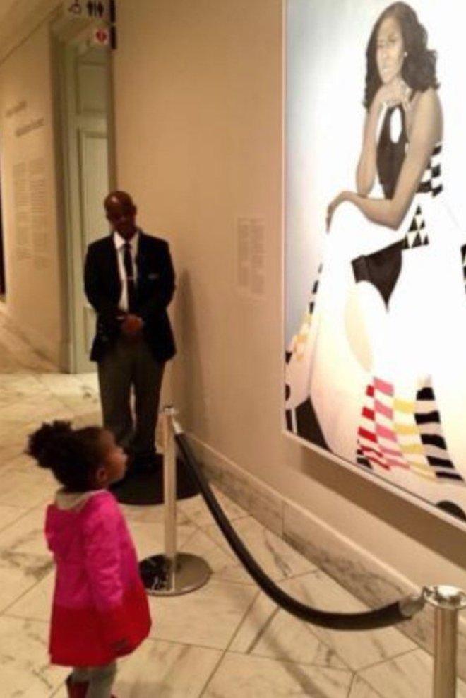 African American Art, Michelle Obama, Black Art, Presidential Portrait, KOLUMN Magazine, KOLUMN, KINDR'D Magazine, KINDR'D