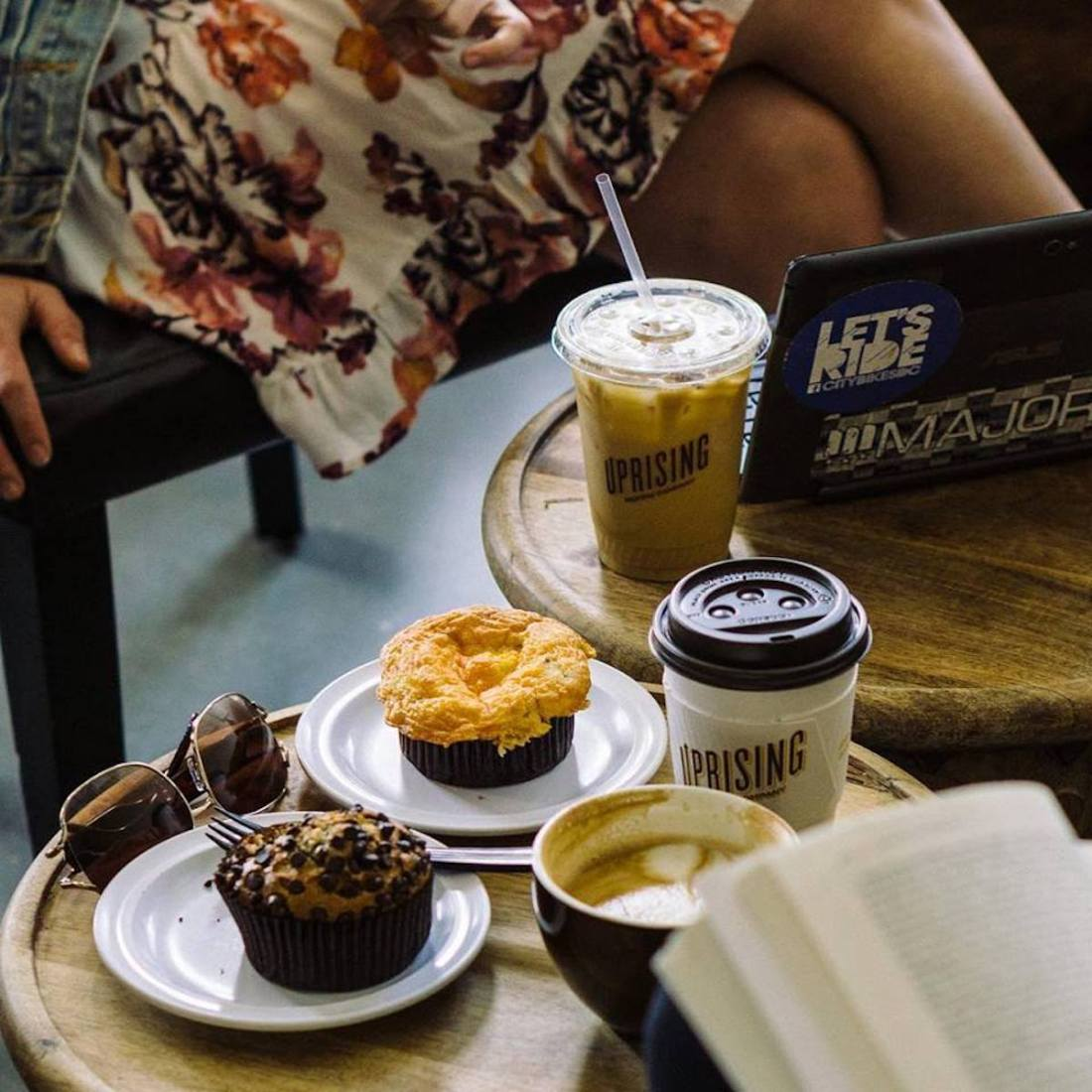 Uprising Muffin Company, Uncle Bobbie's Coffee & Books, Breukelen Coffee House, Starbucks, African American Entrepreneurs, African American Businesses, BuyBlack, Shoppe Black, Race, Racism, American Racism, KINDR'D Magazine, KINDR'D, KOLUMN Magazine, KOLUMN