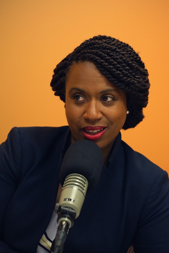 Ayanna Pressley, African American Politics, African American Vote, Black Vote, KOLUMN Magazine, KOLUMN, The FIVE FIFTHS, FIVE FIFTHS, African American News, Willoughby Avenue
