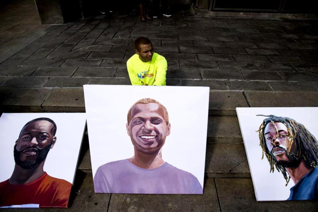 Portraits of Justice, African American Art, Black Art, KOLUMN Magazine, KOLUMN, KINDR'D Magazine, KINDR'D