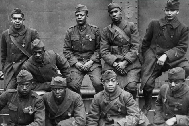 Harelem Hellfighters, African American Veterans, Black Veterans, African American Soldiers, Black Soldiers, World War II, WWII, African American Troops, Black Troops, KINDR'D Magazine, KINDR'D, KOLUMN Magazine, KOLUMN, Willoughby Avenue