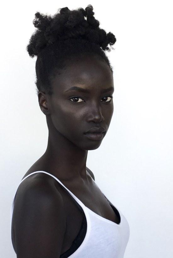 Anok Yai, African Model, Black Model, Howard Homecoming Viral Video, KOLUMN Magazine, KOLUMN, KINDR'D Magazine, KINDR'D, Willoughby Avenue
