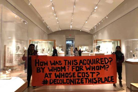 Decolonize This Place, Brooklyn Museum, Art History, KINDR'D Magazine, KINDR'D, KOLUMN Magazine, KOLUMN, Willoughby Avenue