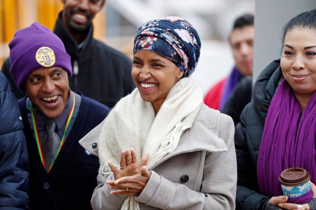 Ilhan Omar, American Politics, Black Politics, Muslim Politics, The FIVE FIFTHS, Five FIFTHS, Women of Color In Politics, KOLUMN Magazine, KOLUMN, KINDR'D Magazine, KINDR'D, Willoughby Avenue