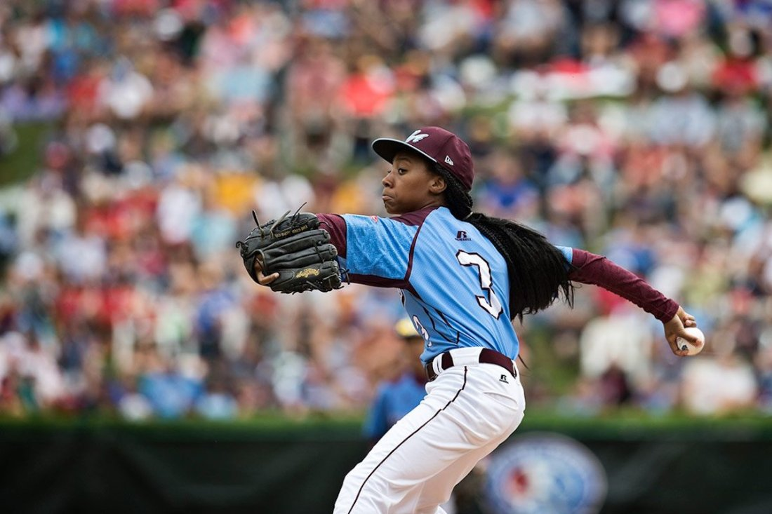Mo'ne Davis, African American Athlete, Black Athlete, KOLUMN Magazine, KOLUMN, KINDR'D Magazine, KINDR'D, Willoughby Avenue