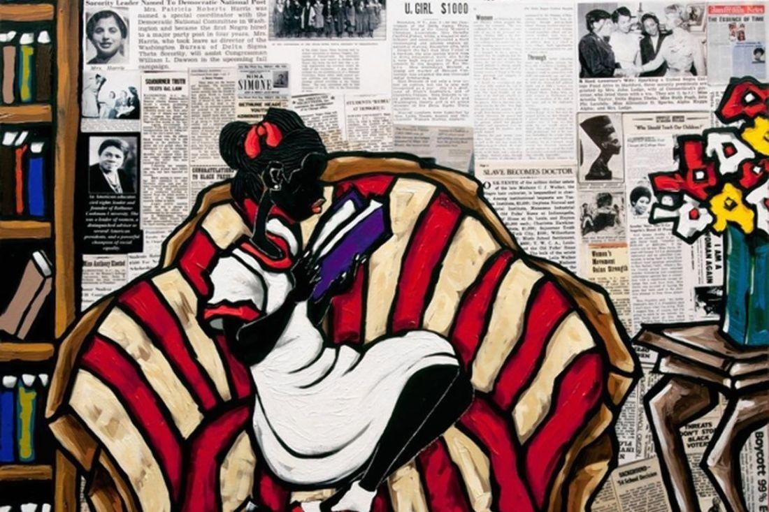 African American Art, Black Art, African American Artist, Black Artist, Leroy Campbell, KOLUMN Magazine, KOLUMN, KINDR'D Magazine, KINDR'D, Willoughby Avenue