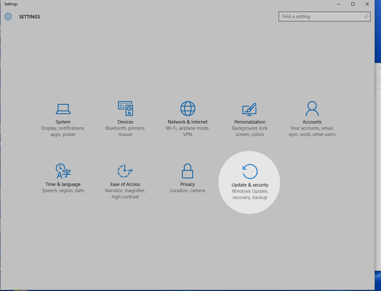 How to go back to an older version after updating to