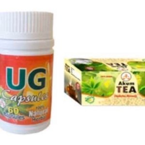 UG Capsules And Akum Tea For Your Good Health