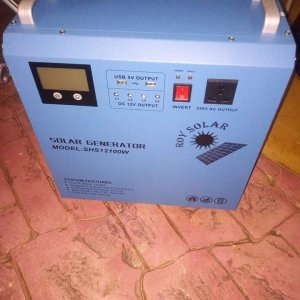 Portable Solar Generator In Nigeria For Sale