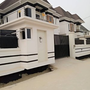 4 Bedroom Semi Detached Duplex At Lekki Ajah