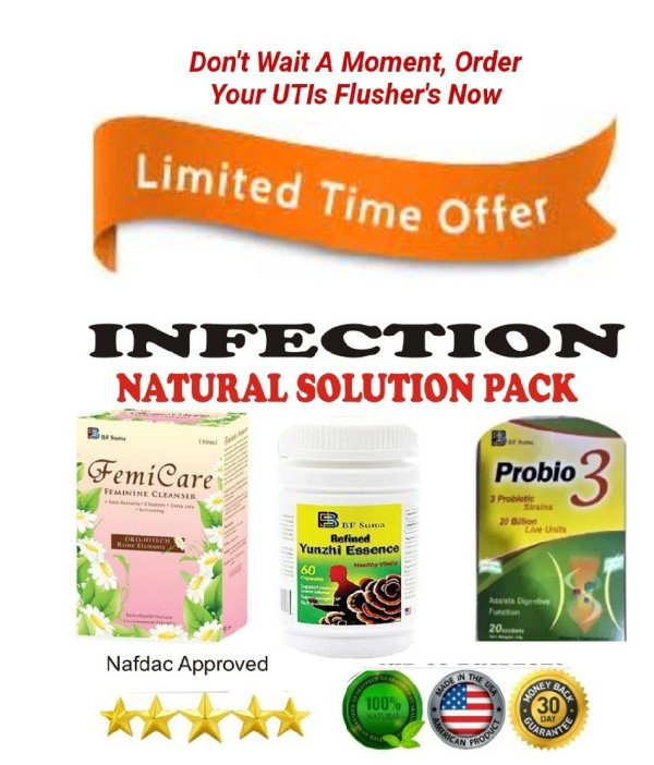 Buy Infection Natural Solution Pack For Sale In Nigeria