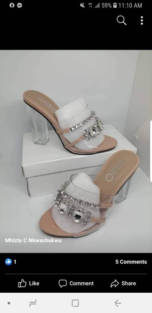 Women ego Shoes Flare Heel Mules For Sale