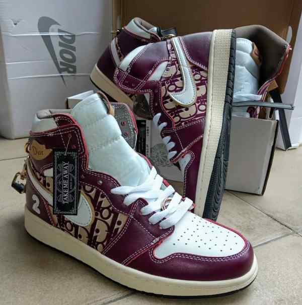 Buy Dior Jordan Sneakers Online In Lagos