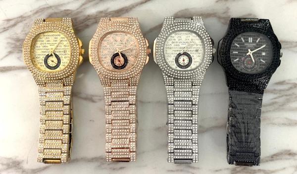 Buy Women's Designer Iced Stone Watches In Lagos