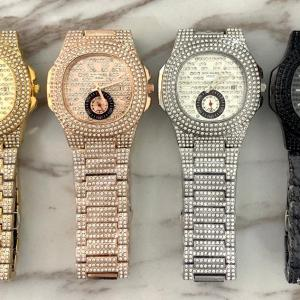 Buy Women's Designer Iced Stone Watches In Lagos