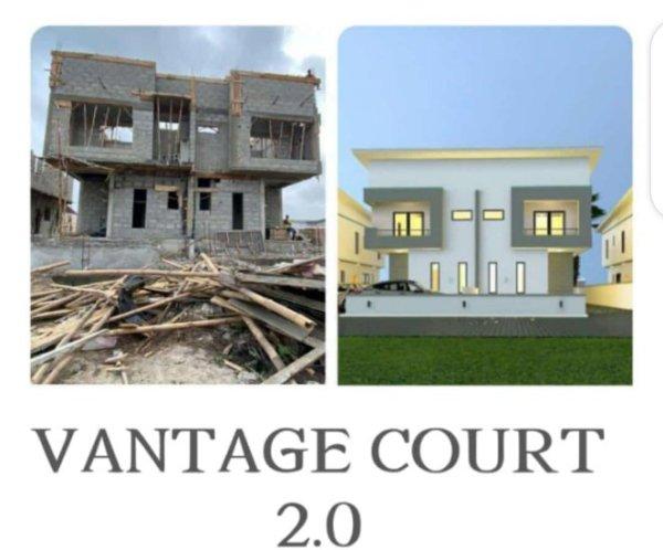 3 Bedroom At Vantage Court Phase 2 Lekki For Sale