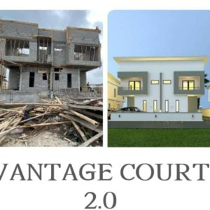 3 Bedroom At Vantage Court Phase 2 Lekki For Sale