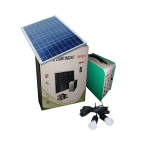 Senko Solar Generator Kit With 8 Super Bright Bulbs