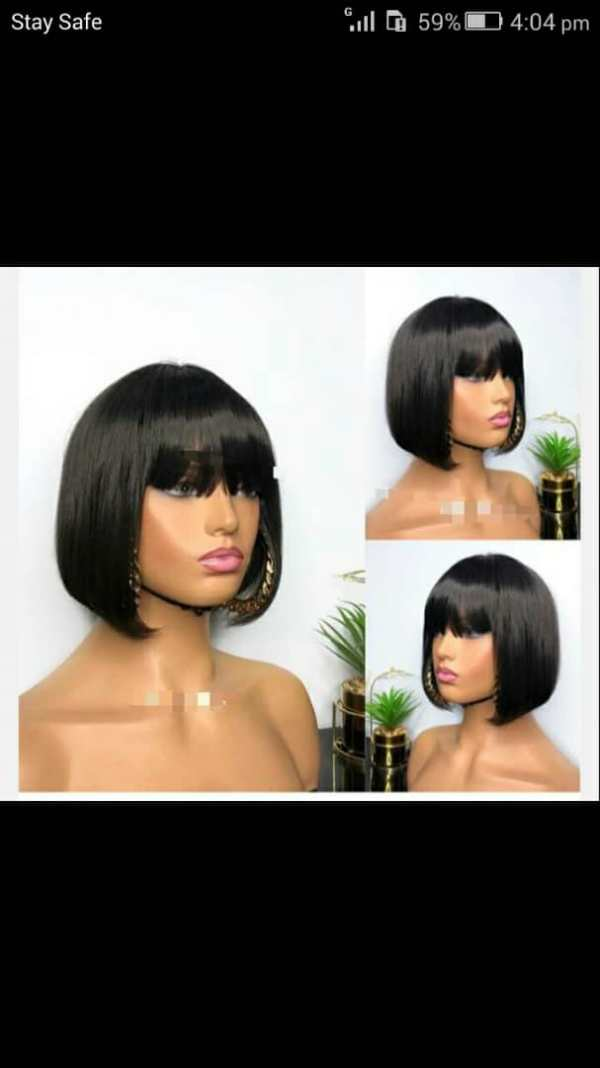 Bob Wigs Human Hair For Sale In Lagos