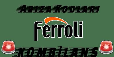 Ferroli Kombi Arıza Kodları
