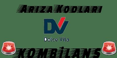 DolceVita Kombi Arıza Kodları