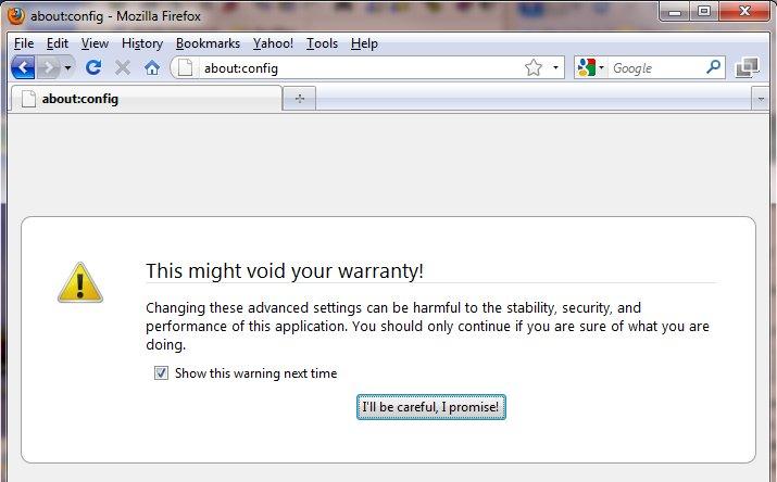 How to Diable Firefox's Virus Scanningkombitz | kombitz