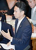 質問する谷合氏=10日 参院予算委