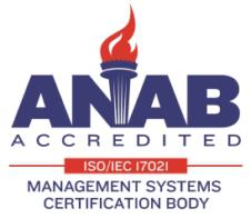 ANAB Accreditation logo