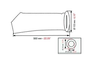 Фильтр мешок technotrans систем рециркуляции и систем