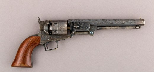 Colt Navy Percussion Revolver serial no.2 MET