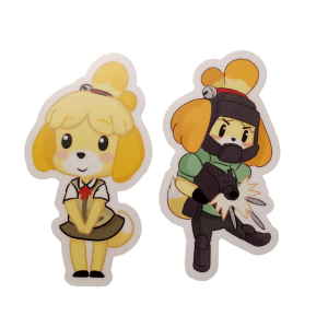 Isabelle Sticker Set