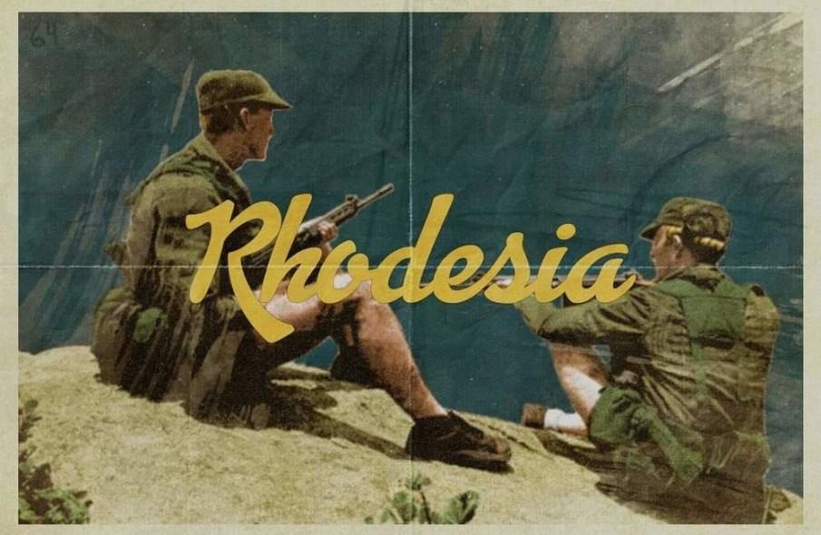 Rhodesia postcard