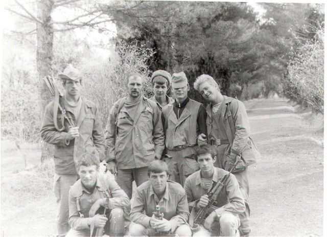 Soviet soldiers wearing Gorka 1