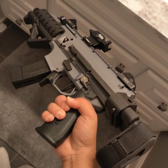 3D Printed Scorpion EVO Pistol