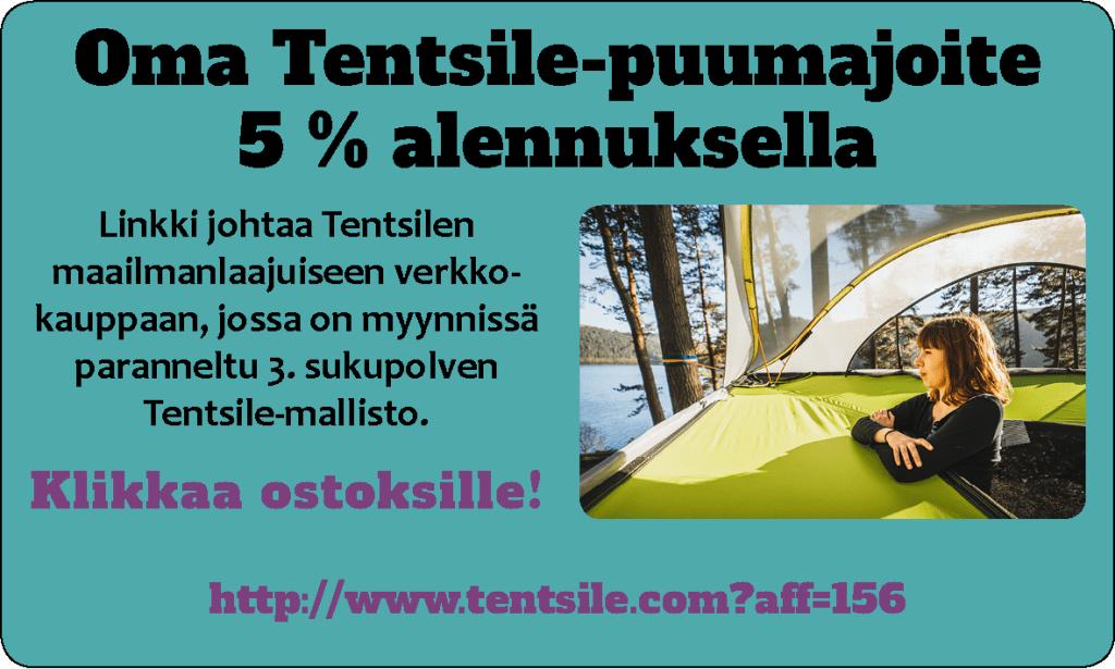 Hanki oma Tentsile-puumajoite 5 % alennuksella, klikkaa kuvaa!
