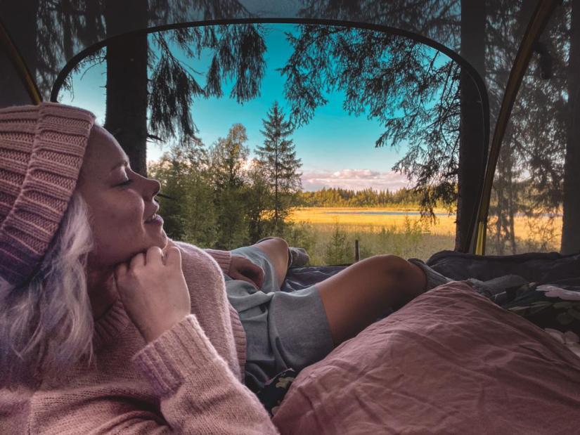 Puumajoitus rentouttaa mieltä ja kehoa.