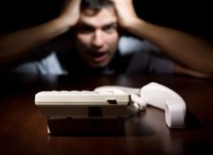 peur du téléphone