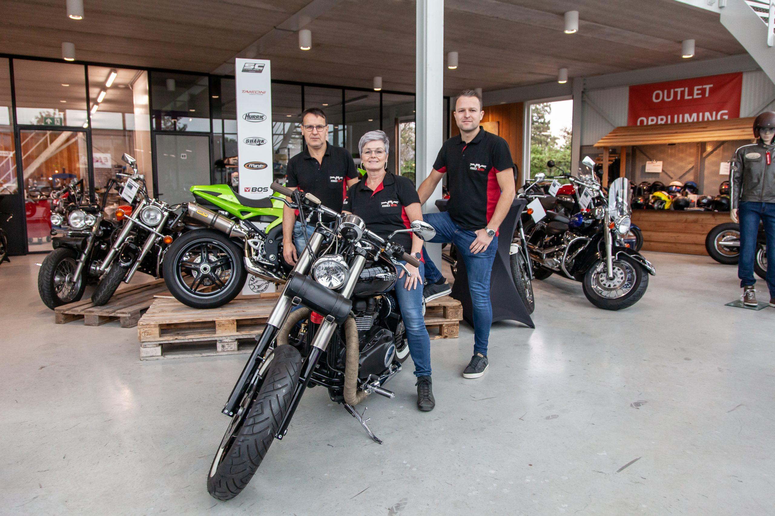 De eigenaren van Kommer Motors