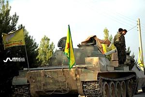 Syrien-YPG-Panzer