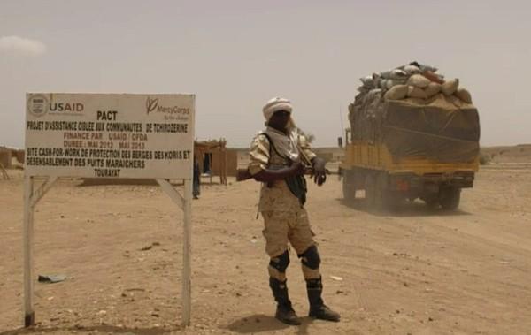 Fluchtroute Mali Kontrolle ARD