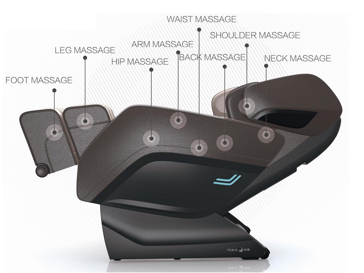 comtek massage chair track chairs for vets rokol rk 7805 zero gravity komoder