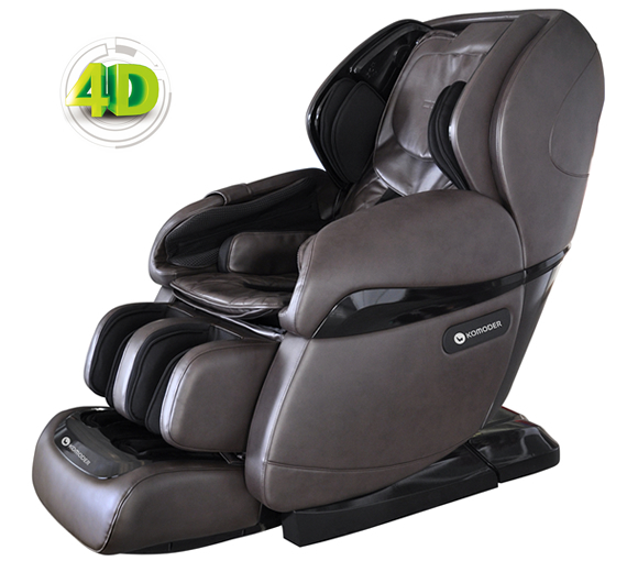 back massage chair movie chairs for sale 4d komoder luxury km9000 by capsule zero gravity 2019 model with 8 heated rollers bluetooth voice control