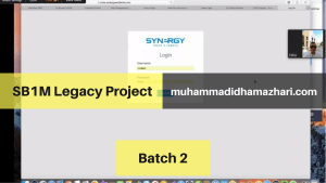 Webinar Online SB1M Legacy Project Batch 2